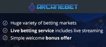 Arcanebet have put together a great betting service that's sure to be a big hit amongst many esports fans.